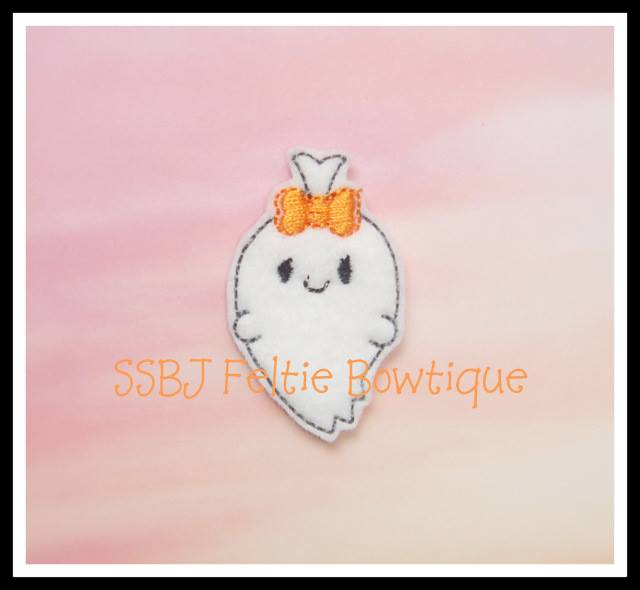 Ghostie Embroidery File