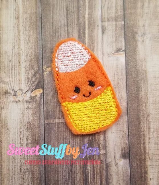 SSBJ Ghouls Candy Corn Embroidery File