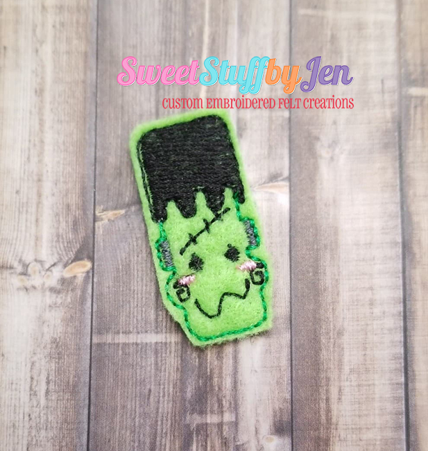 SSBJ Ghouls Frankie Embroidery File