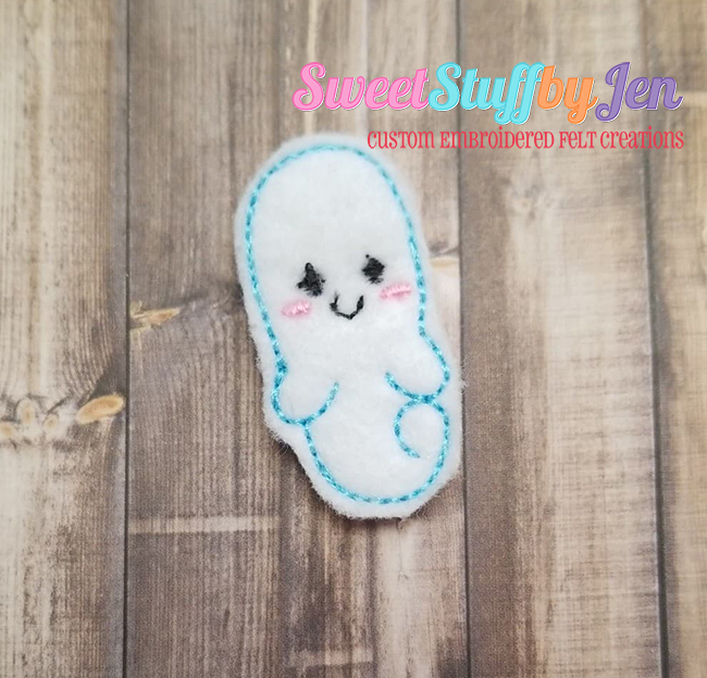 SSBJ Ghouls Ghost Embroidery File
