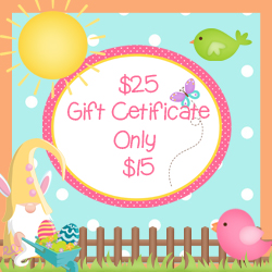 $25 Gift Certificates Daily Deal!