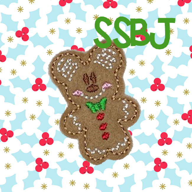SSBJ Mr Mouse Ginger Embroidery File