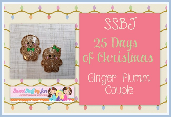 SSBJ Ginger Plumm Couple Embroidery File