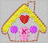 Gingerhouse Filled Embroidery File