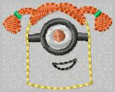 Girlie Minion Embroidery File