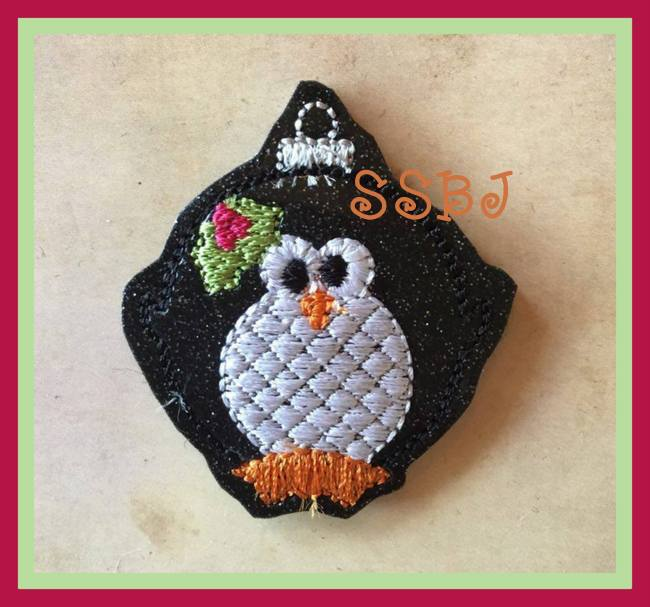 SSBJ Penguin Ornament Embroidery File