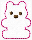 Gummy Bear Embroidery File