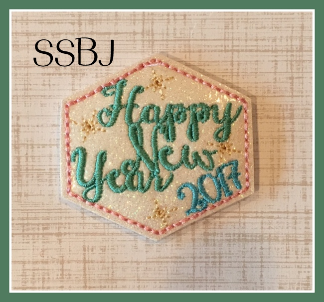 SSBJ HNY 2017 Diamond Cover Embroidery File