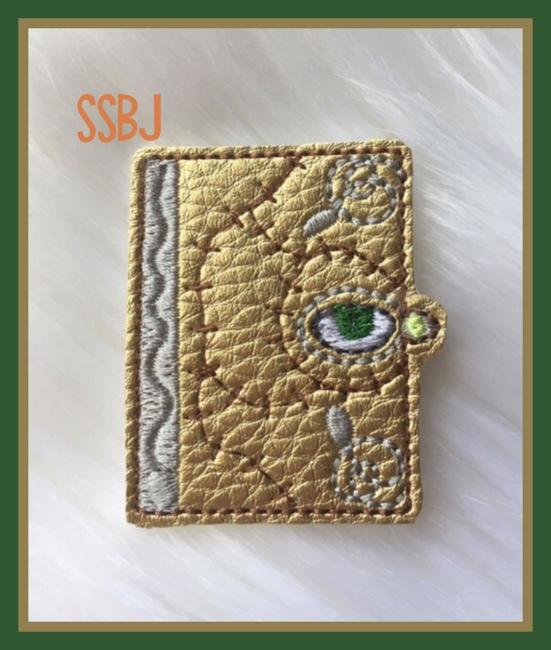 Hocus Pocus Book  Embroidery File