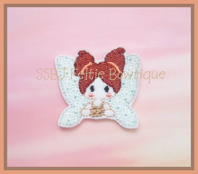 Hallow Fairy Embroidery File