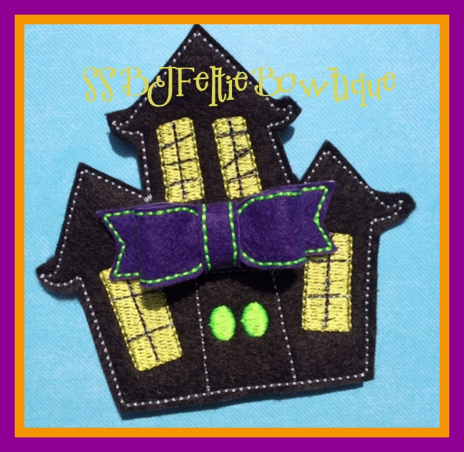 Hallow House Embroidery File