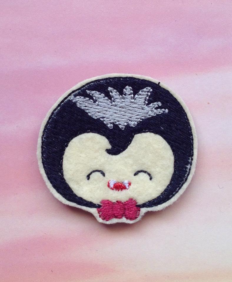 Hallow Kutie Kids Dracula Embroidery Files