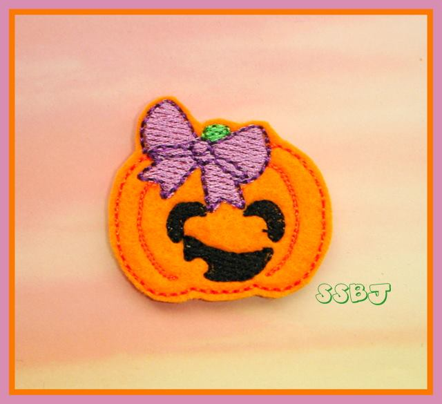 Hallow Kutie Kids Jackie Embroidery File
