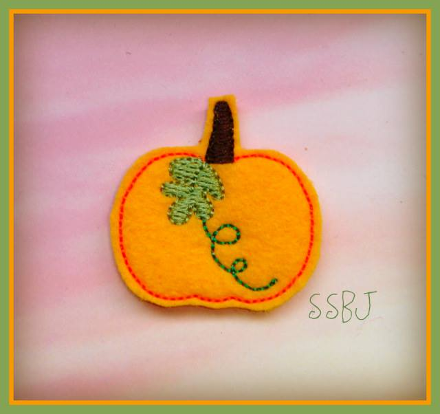 Hallow Pumpkin 2 Embroidery File