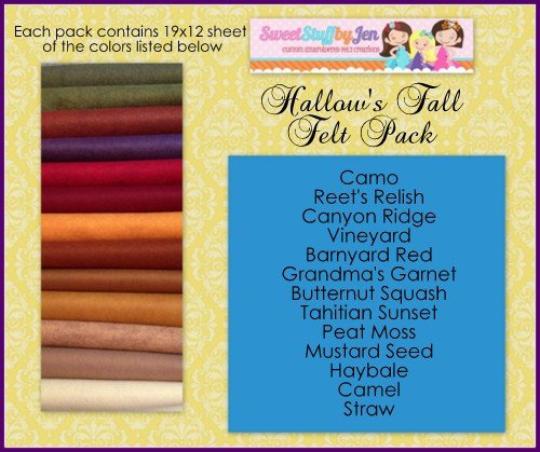 Hallows Fall Felt Pack