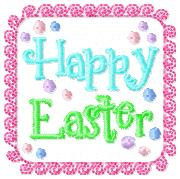 Happy Easter Cover Embroidery File
