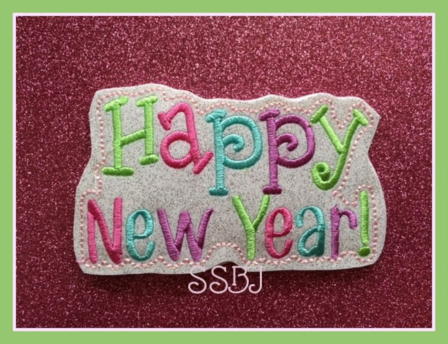 SSBJ Happy New Year 2 Embroidery File