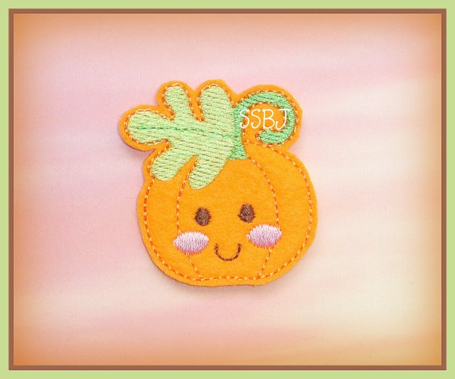 Happy Pumpkin Embroidery File