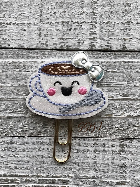 SSBJ Happy Coffee Cup Embroidery File