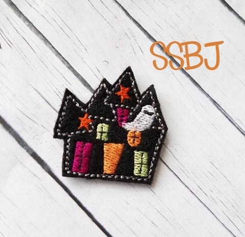 SSBJ Haunted House Embroidery File