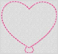 Heart Balloon Embroidery File