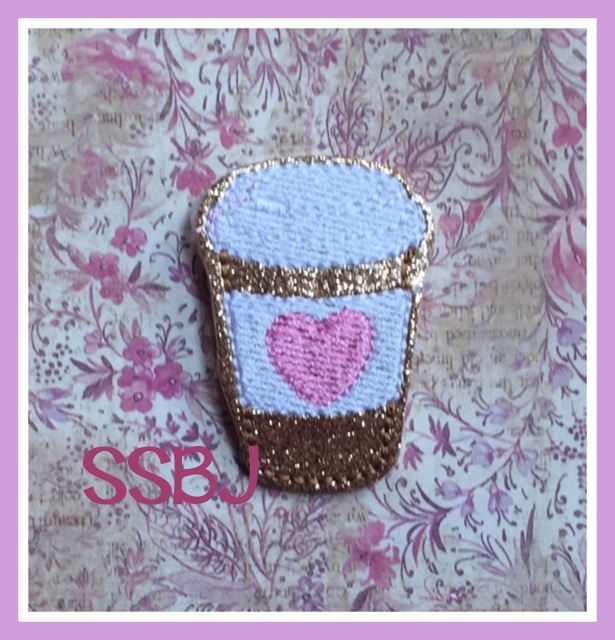 SSBJ Heart Latte FILL Embroidery File