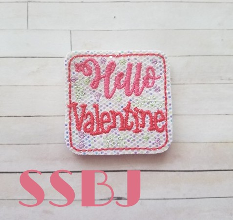 SSBJ Hello Valentine Swirl Dot Embroidery File