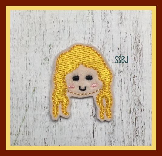 Hocus Pocus Girl 2 FACE Embroidery File