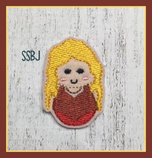 Hocus Pocus Girl 2 FULL Body Embroidery File