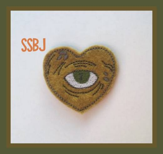Hocus Pocus Eye Embroidery File