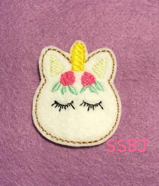SSBJ Rosy Unicorn Embroidery File