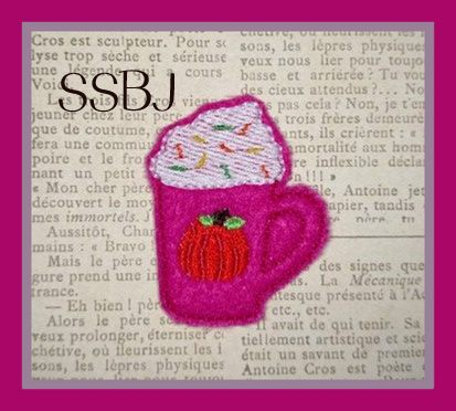 SSBJ Hot Spiced Cocoa Embroidery File
