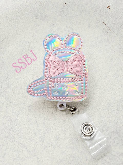 SSBJ Mrs Mouse Backpack Embroidery File