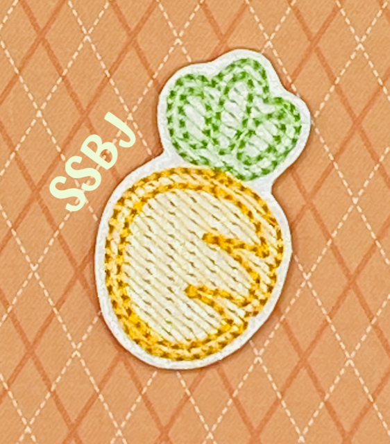 SSBJ Pete's Carrot Embroidery File