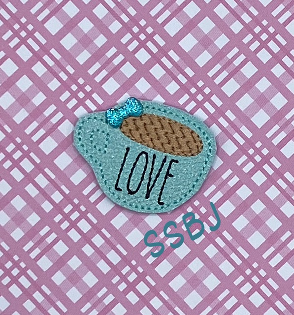 SSBJ LOVE Coffee Embroidery File