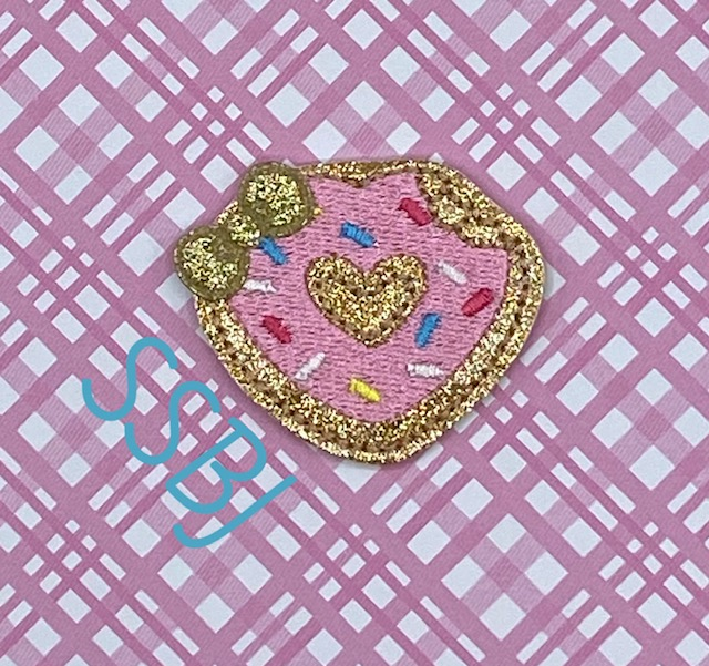 SSBJ Donut Bite Embroidery File