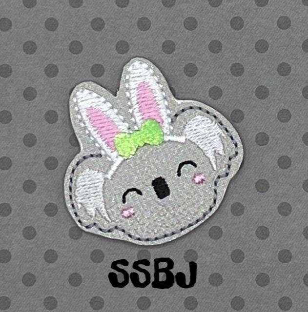 SSBJ Easter Bunny Koala Embroidery File