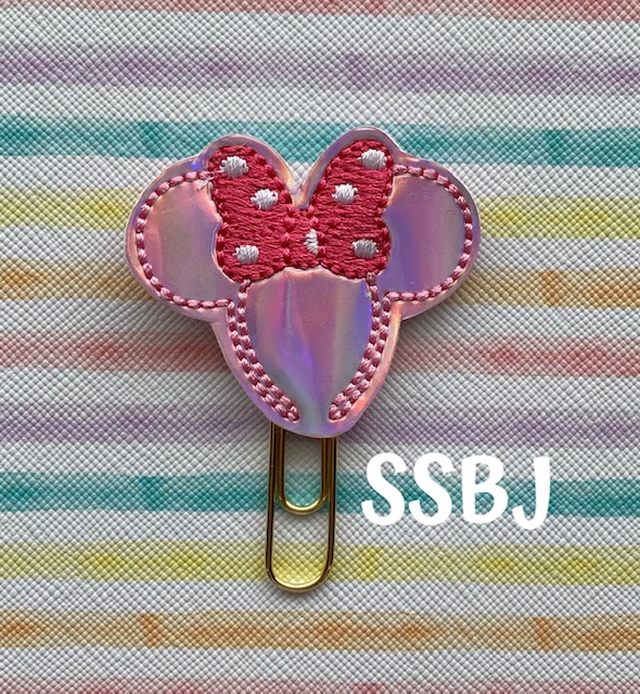 SSBJ Mrs Mouse Headband Embroidery File