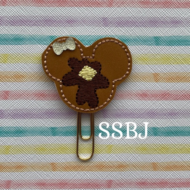 SSBJ Mr Mouse Pancake Embroidery File