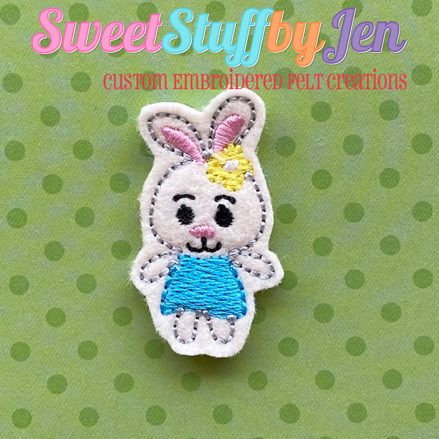 SSBJ Bunny Girl Embroidery File