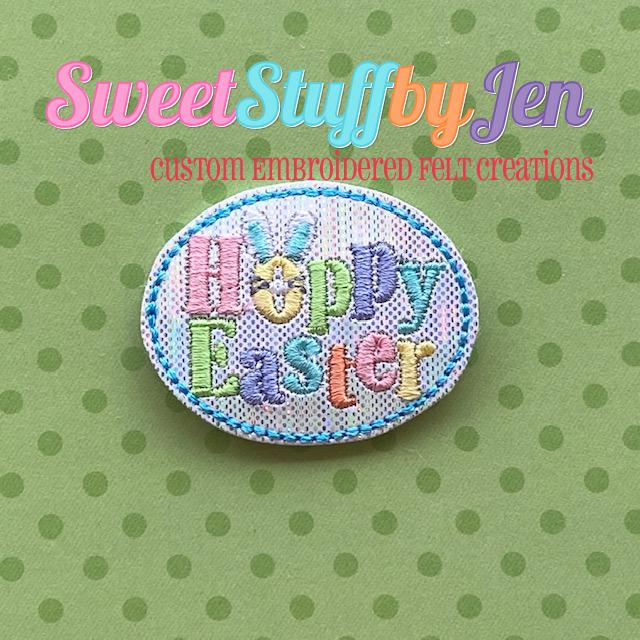 SSBJ Hoppy Easter Embroidery File