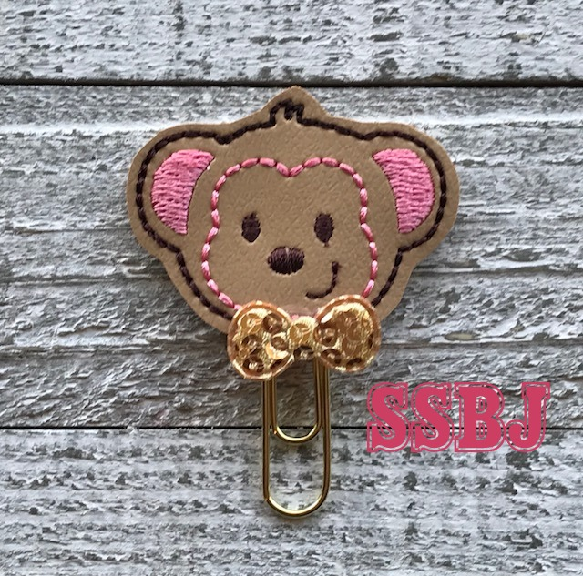 SSBJ Mr Monkey Embroidery File