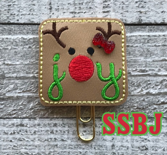 SSBJ Red Nose Joy Embroidery File