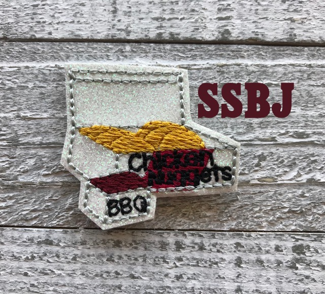 SSBJ Chicken Nuggets Embroidery File
