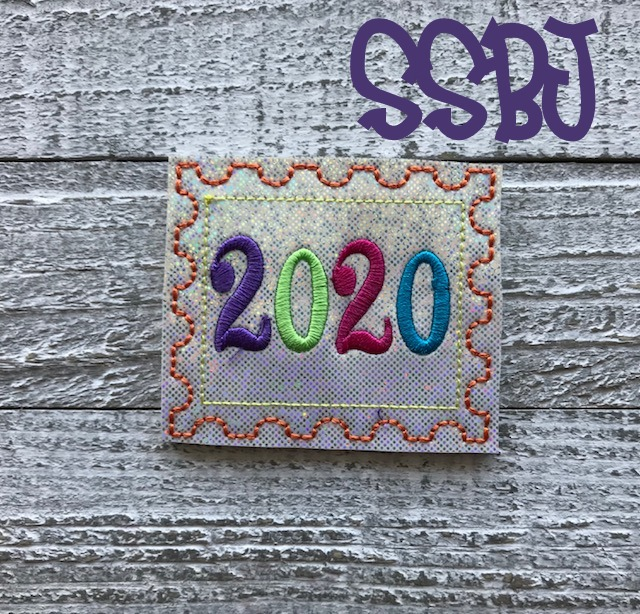 SSBJ 2020 Stamp Embroidery File