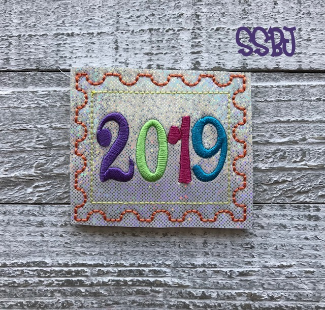 SSBJ 2019 Stamp Embroidery File
