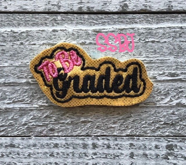 SSBJ To Be Graded Embroidery File