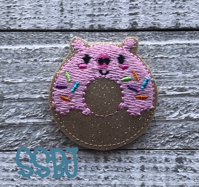 SSBJ Piggy Donut Embroidery File