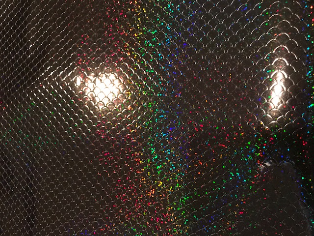 Steel Mermaid Scale Mystical Vinyl