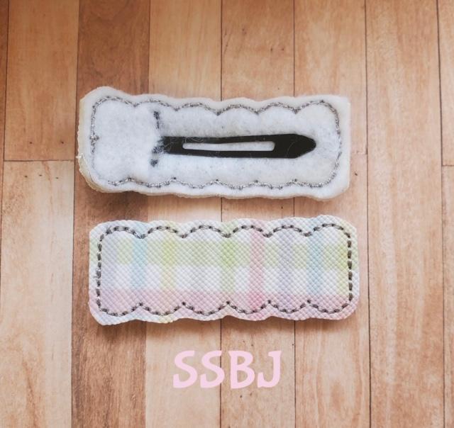 SSBJ Scallop Snapclip Embroidery File